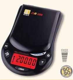 Lommevægt Jennings JSR-200. Kapacitet: 200 g Præcision: 0,02 g