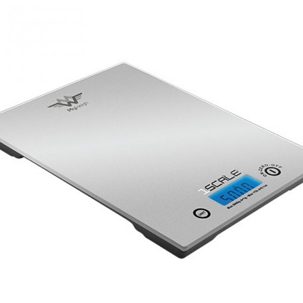 My Weigh Køkken. 1Scale 5000 (5000 x 1.0 gr.) (Vejeplade: 170 x 220 mm)