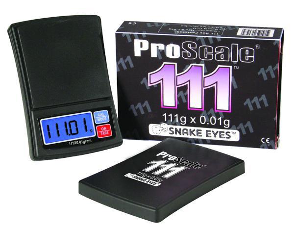 Lommevægt ProScale 111. Kapacitet: 111 g Præcision: 0,01 g