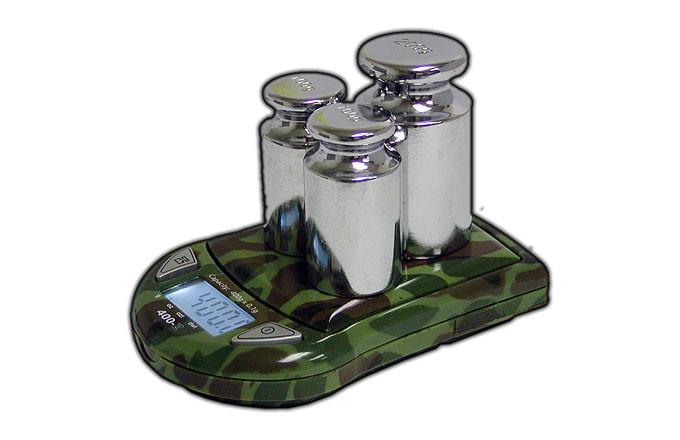 Lommevægt My Weigh 440-Z (Militær) (440 x 0.1 gr.) (Vejeplade 63 x 50 mm)