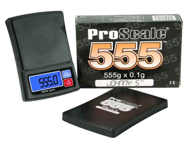 Lommevægt ProScale 555. Kapacitet: 555 g Præcision: 0,1 g