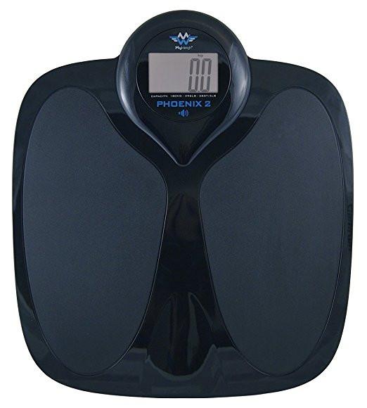 Badevægt My Weigh Phoenix2 Talking Scale  (180 kg x 0,1 kg.)