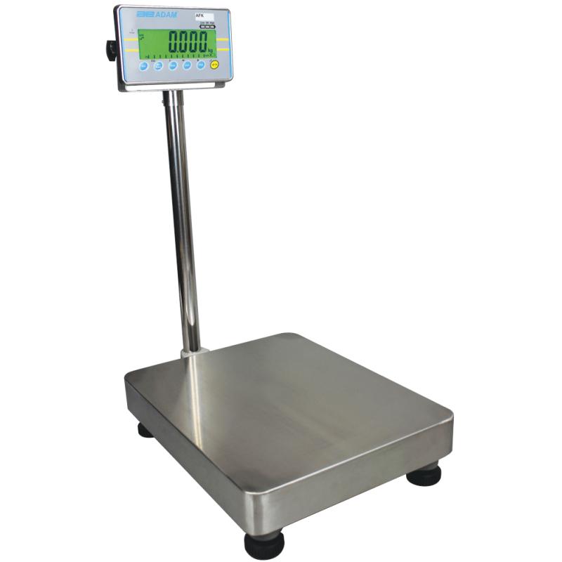 Gulvvægt Adam AFK  (75 kg. x 5 gr.) Vejeplade (400 x 500 mm)