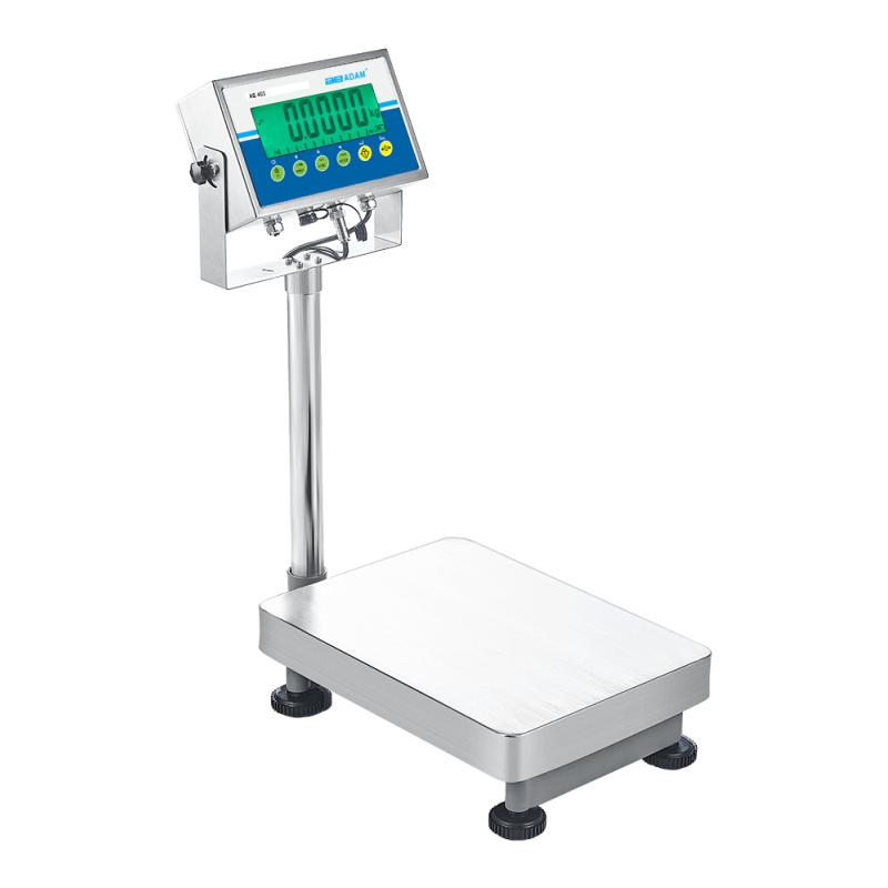 Gulvvægt Adam AGB. Kapacitet: 8 kg til 70 kg Præcision: 0,1 g til 1 g
