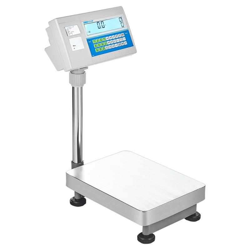 Tællevægt - labelprinter Adam BCT  Kapacitet: 75 kg til 300 kg Præcision: 5 g til 0,2 kg