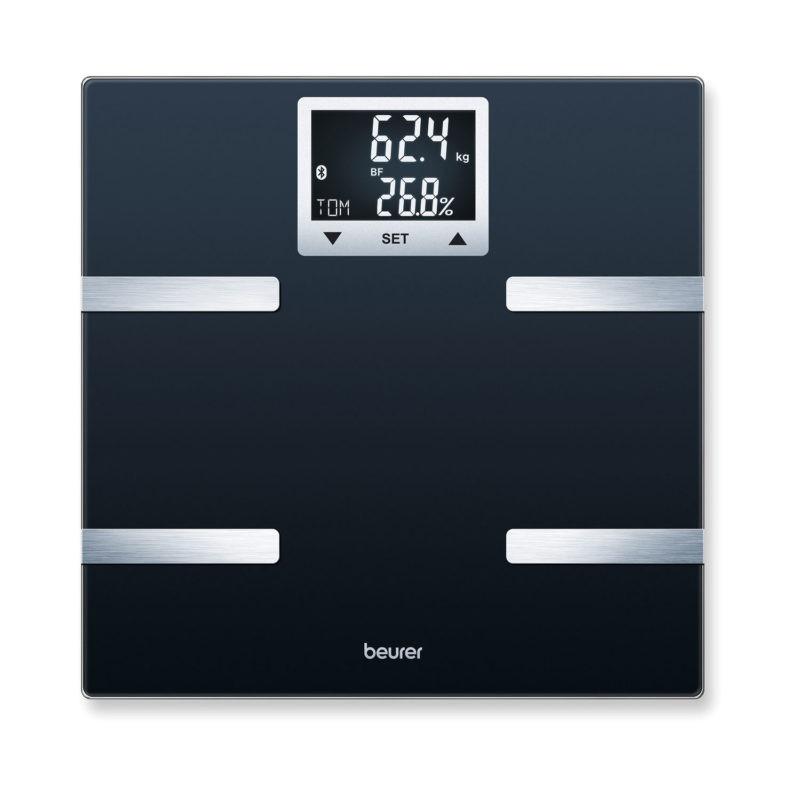 Kropsanalysevægt. Beurer BF720. Badevægt med Bluetooth (180 kg.x100 gr.)