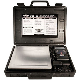 My Weigh Briefcase Scale BCS-40 (40 x 0,01 kg) (Vejeplade 229 x 229 mm)