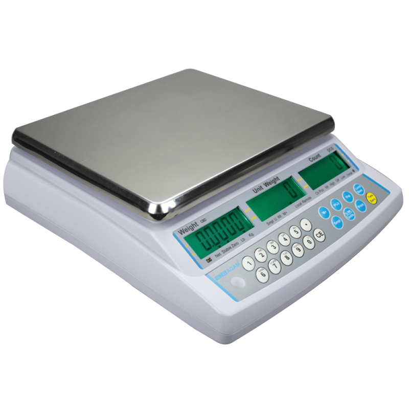 AE-CBD Tællevægt. Vejeplade (225x275 mm) Varianter: 4kgx0,1g, 8kgx0,2g, 16kgx0,5g, 32kgx2g, 48kgx2g