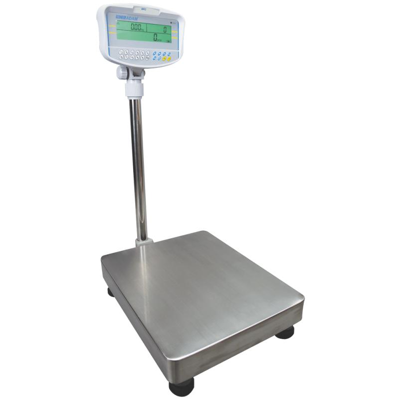 AE-GFC Gulvtællevægt. Vejeplade (400x500x860 mm). Varianter: 75kgx5g, 150kgx10g, 300kgx20g