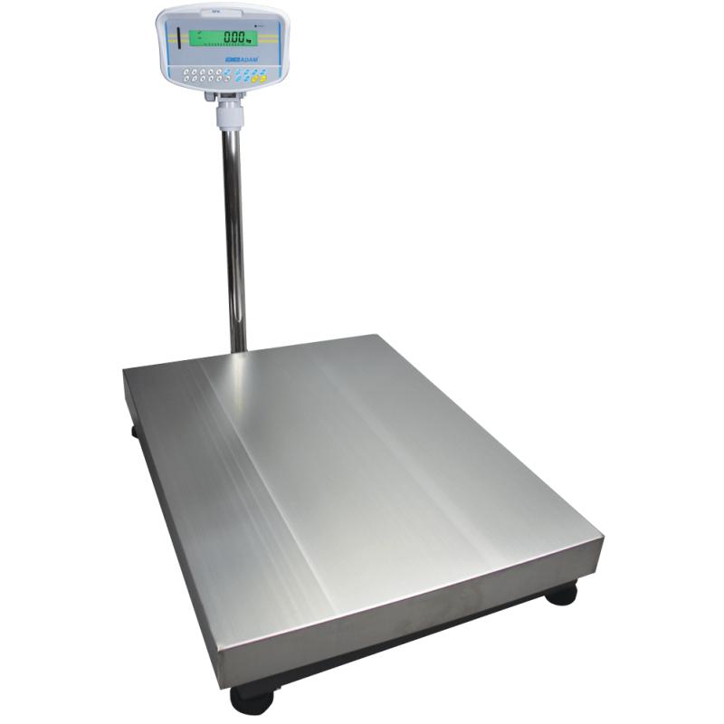 AE-GFK kontrol/tællevægt (600 kg x 50 gr) (Vejeplade 600 x 800 mm)