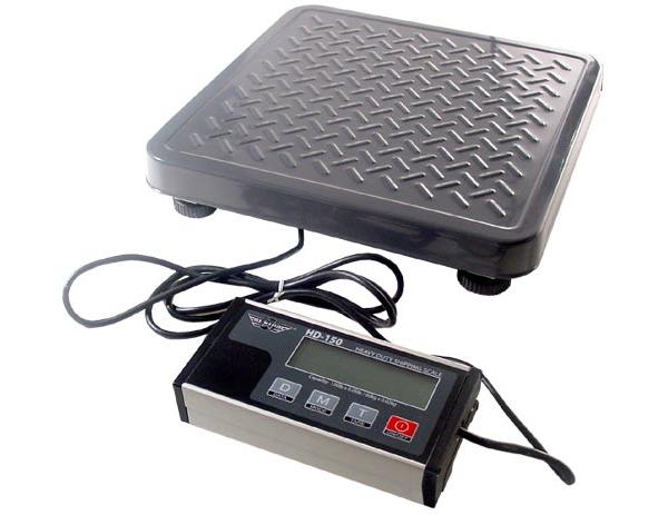 Pakkevægt My Weigh HD300  (136 kg x 50 gr.) (Vejeplade 355x355mm)