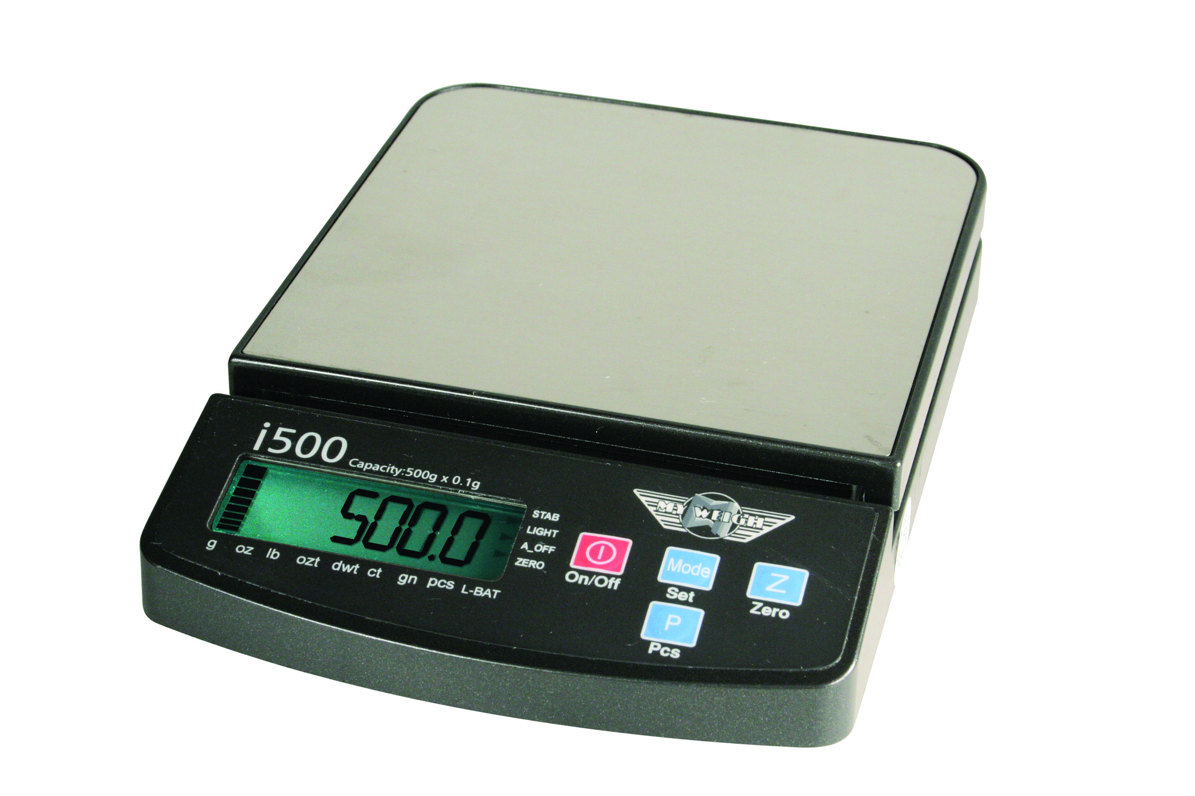 Præcision My Weigh iBalance 500 Vejeplade (145 x 145 mm) (500 gr. x 0.1 gr.)