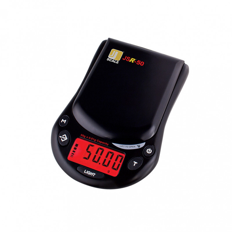 Lommevægt Jennings JSR-50. Kapacitet: 50 g Præcision: 0,01 g