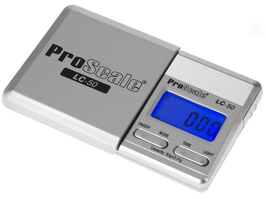 Lommevægt ProScale LC-300. Kapacitet: 300 g Præcision: 0,1 g
