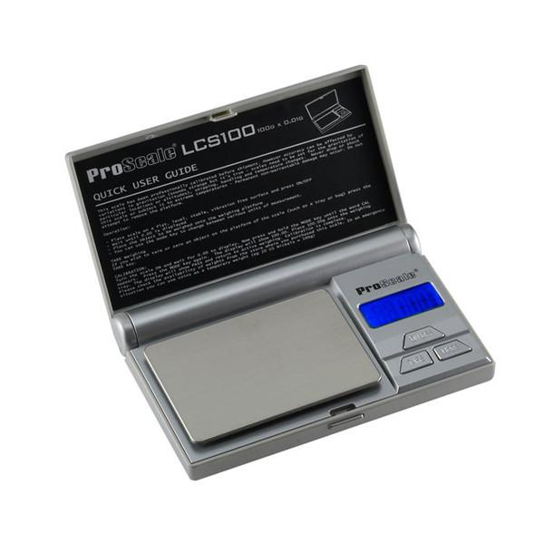 Lommevægt ProScale LCS. Kapacitet: 100 g Præcision: 0,01 g