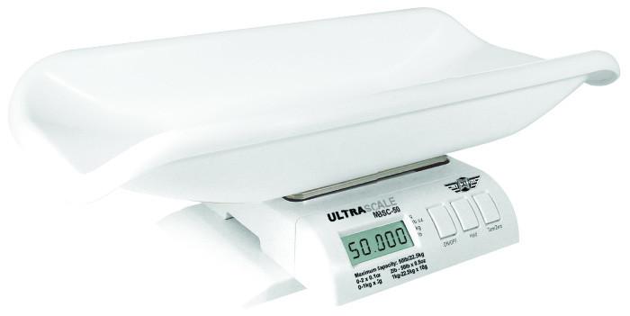 Babyvægt My Weigh Ultra. Kapacitet: 25 kg Præcision: 2 g
