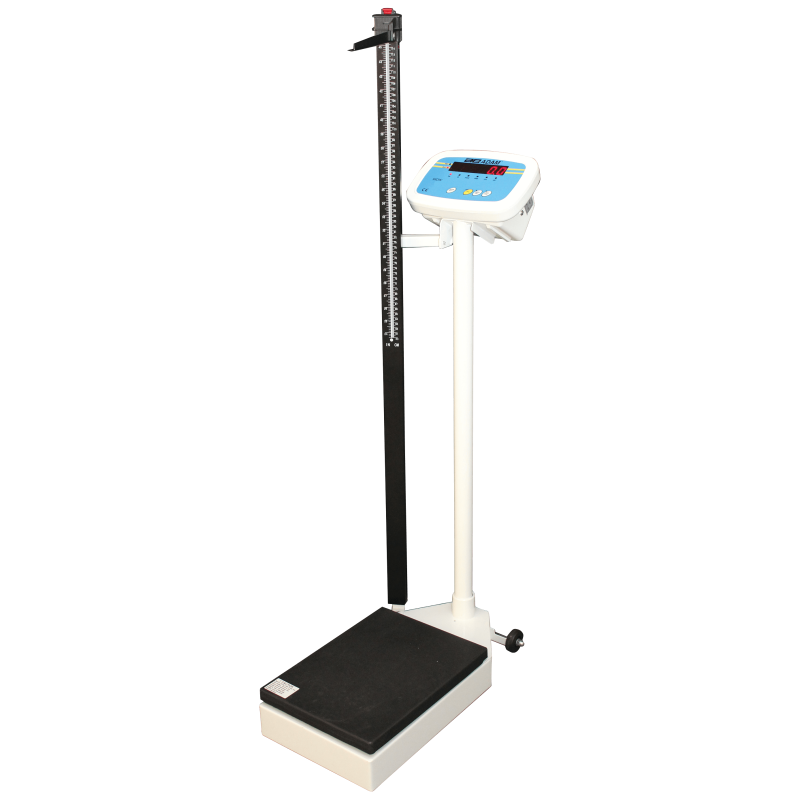 AE-Digital Personvægt MDW 300L (300kg x 50g). Vejeplade (375 x 275 x H.1310 mm)