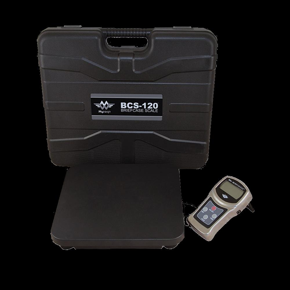 Pakkevægt My Weigh Briefcase Scale BCS-120. Kapacitet: 120 kg Præcision: 0.2 g