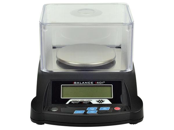 Digitalvægt My Weigh iBalance 401 (400 x 0.005 gr.) (Vejeplade Ø 11 cm.)