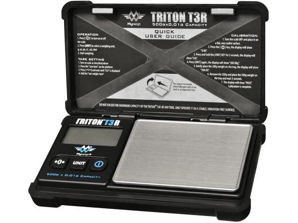 My Weigh Triton T3R Lommevægt (500 gr. x 0.01 gr.) (Vejeplade 60 x 79 mm)