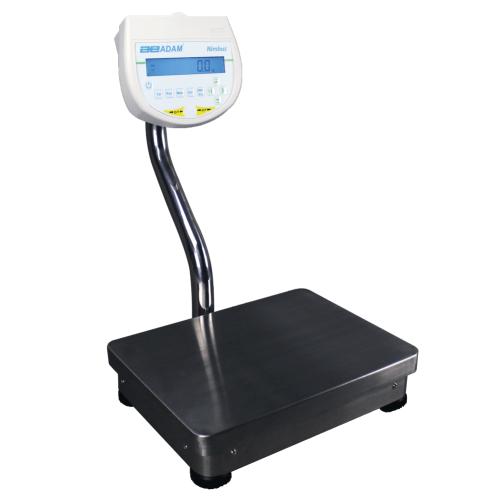 Præcision balances Adam NBLp   laboratorievægt. Vejeplade (400x300 mm). Varianter: 12kgx0,1g, 16kgx0,1g, 22kgx0,1g