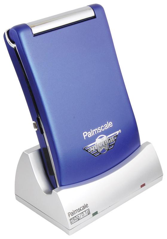 My Weigh PalmScale 6.0 (blå) (250 x 0.1 gr.) (Vejeplade 7 x 6 cm.)