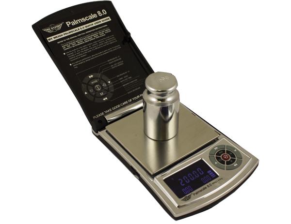 Lommevægt My Weigh PalmScale 8.0. Kapacitet: 800 g Præcision: 0,1 g