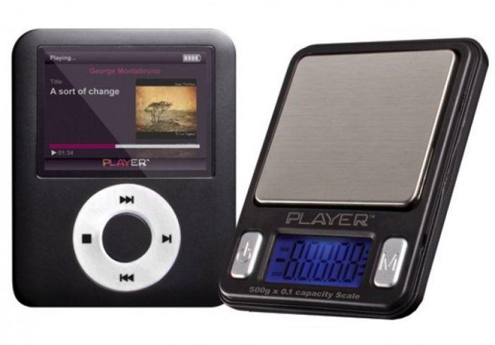 Lommevægt ProScale Player. Kapacitet: 500 g Præcision: 0,1 g