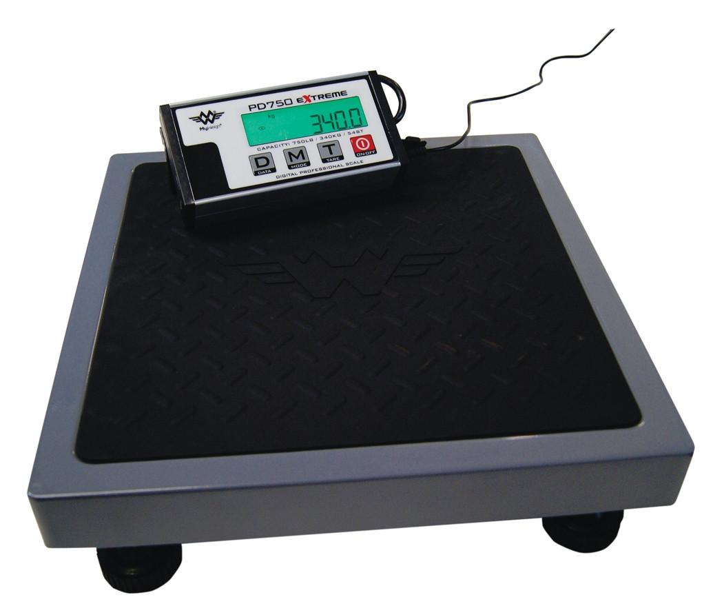 Pakkevægt My weigh PD-750 Extreme (330 kg x 100 gr.) Vejeplade (355 x 355 mm)