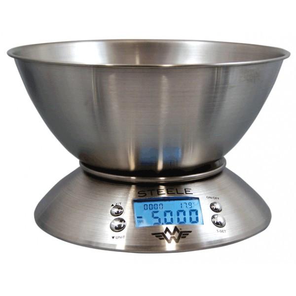 Køkkenvægt  My Weigh Steele (5000 gr. x 1 gr.)