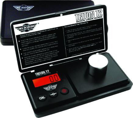 Lommevægt My Weigh Triton T2 (550 gr. x 0.1 gr.) (Vejeplade 78 x 63,5 mm)