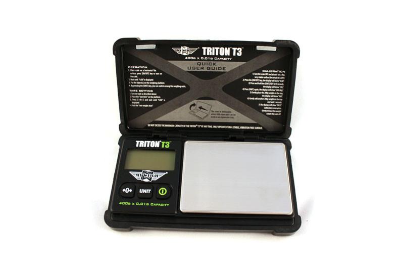 Lommevægt My Weigh Triton T3 (400 gr. x 0.01 gr.) (Vejeplade 80 x 60 mm)