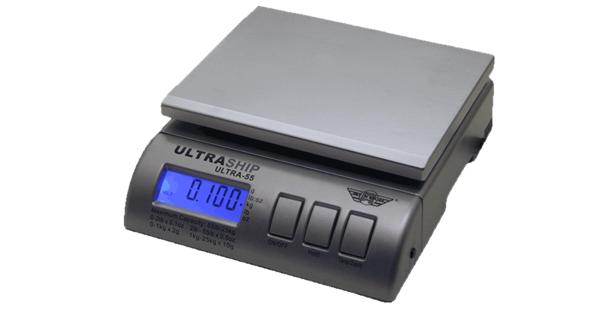 Bordvægt My Weigh Ultra Ship 55 (25000 gr. x 2 gr.) (Vejeplade 200 x 160 mm)