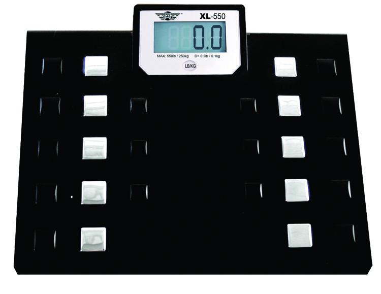 Badevægt My Weigh XL-440. Kapacitet: 200 kg Præcision: 1 g
