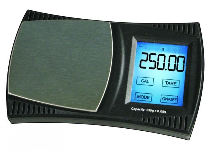Lommevægt ProScale XX250 (250 x 0.05 gr.) (Vejeplade 60 x 57 mm)