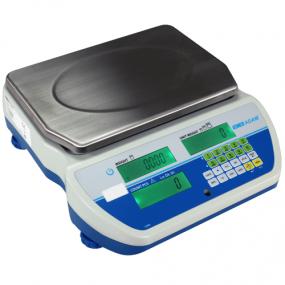 Tællevægt  Adam  CCT M-model. Kapacitet: 4 kg til 40 kg Præcision: 1 g til 10 g