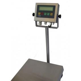 Davi Defender rustfri industrivægt inkl. IT1000 indikator m. 450 mm søjle (3 kg x 0,5 g)