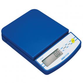 AE-Dune DCT kompakt vægt. Vejeplade (145x145 mm). Varianter: 200gx0,1g, 600gx0,1g, 2kgx0,1g, 2kgx1g, 5kgx2g