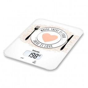 Køkkenvægt. Beurer KS 19 Love. Kapacitet: 5 kg. Nøjagtighed: 1 g