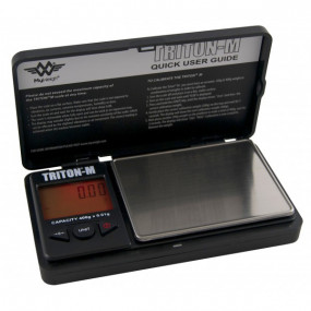 Lommevægt My Weigh Triton Mini.  Kapacitet: 400 g Præcision: 0,01 g