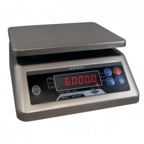 Vandafvisende My Weigh WP6K Counting Scale (6000 x 0,5 g) Vejeplade (190x230 mm )