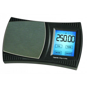 Lommevægt ProScale XX250. Kapacitet: 250 g Præcision: 0,05 g